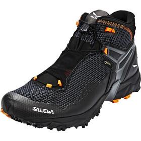 SALEWA Ultra Flex Mid GTX Hiking Shoes Men black/holland
